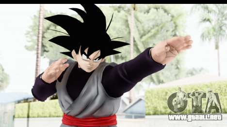 Dragon Ball Xenoverse Goku Black para GTA San Andreas