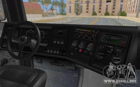 GTA 5 HVY Brickade IVF para la vista superior GTA San Andreas