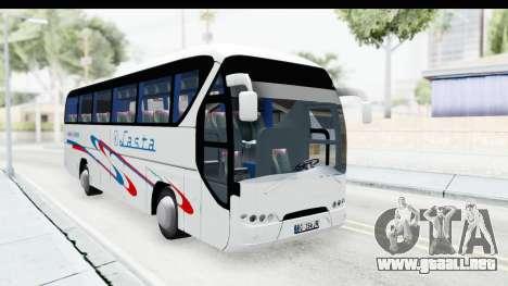 Neoplan Lasta Bus para la visión correcta GTA San Andreas