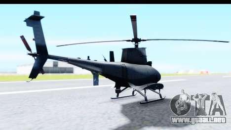 Northrop Grumman MQ-8B Fire Scout para la visión correcta GTA San Andreas