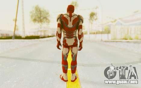 Marvel Heroes - Ironman Mk42 para GTA San Andreas tercera pantalla