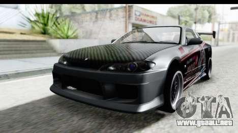 Nissan Silvia S15 Itasha para GTA San Andreas