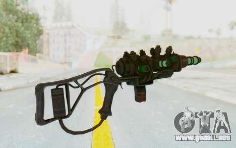 Q-35 Matter Modulator Plasma Rifle para GTA San Andreas segunda pantalla