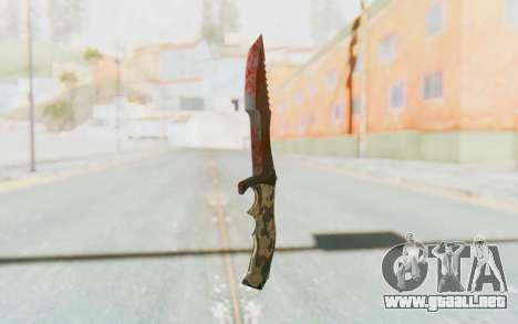 Huntsman Knife para GTA San Andreas