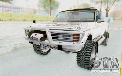 Ikco Super Peykan Pickup para GTA San Andreas