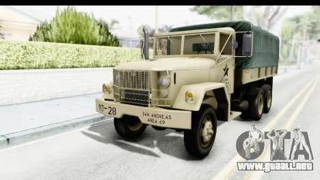 AM General M35A2 Sand para GTA San Andreas