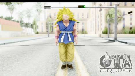 Dragon Ball Xenoverse Goku GT Adult SSJ3 para GTA San Andreas segunda pantalla