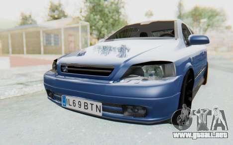 Opel Bertone para la visión correcta GTA San Andreas
