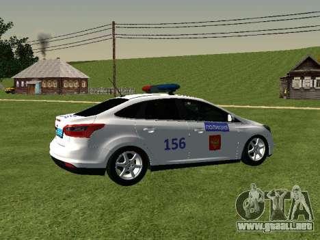 Ford Focus ДПС para la visión correcta GTA San Andreas