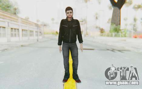GTA 5 Online Random 1 Skin para GTA San Andreas segunda pantalla
