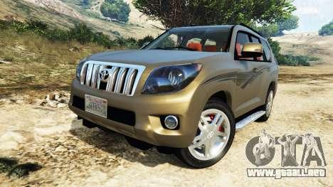 GTA 5 Toyota Land Cruiser Prado 2012 volante