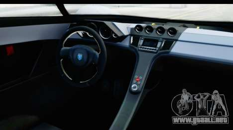 GTA 5 Grotti X80 Proto SA Lights para visión interna GTA San Andreas