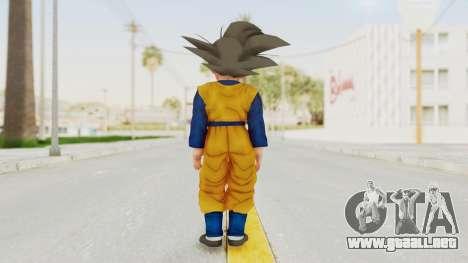 Dragon Ball Xenoverse Goten SJ para GTA San Andreas tercera pantalla