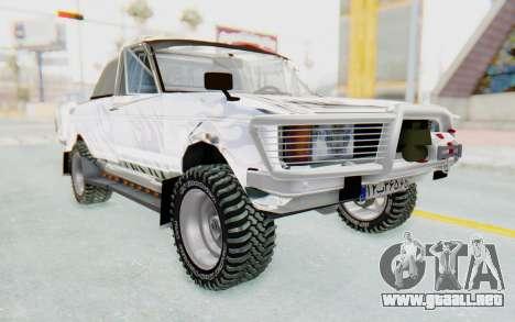 Ikco Super Peykan Pickup para la visión correcta GTA San Andreas