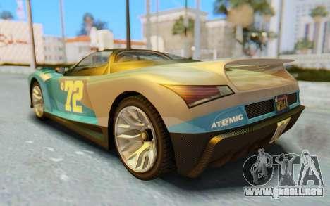 GTA 5 Grotti Cheetah SA Lights para el motor de GTA San Andreas