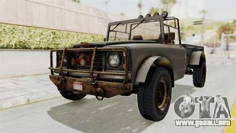 GTA 5 Canis Bodhi Trevor IVF para la visión correcta GTA San Andreas