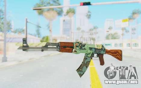 CS:GO - AK-47 Fire Serpent para GTA San Andreas