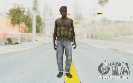 CoD MW3 Africa Militia v1 para GTA San Andreas segunda pantalla