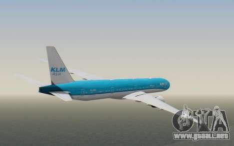 Boeing 777-300ER KLM - Royal Dutch Airlines v2 para la visión correcta GTA San Andreas