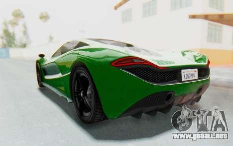 GTA 5 Progen T20 Devil PJ para la visión correcta GTA San Andreas