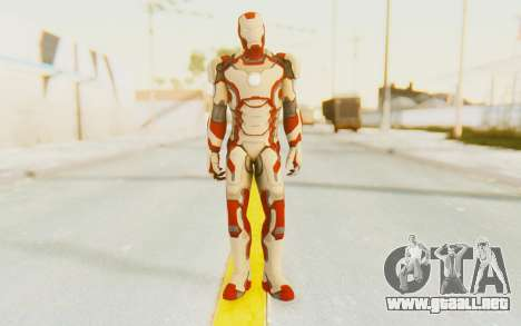 Marvel Heroes - Ironman Mk42 para GTA San Andreas segunda pantalla