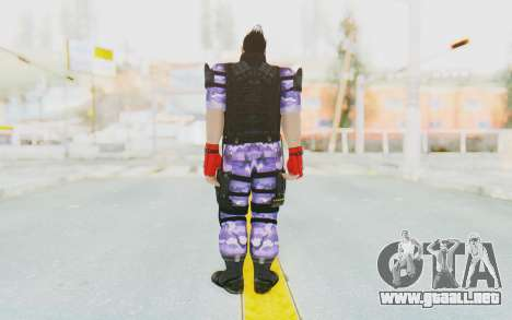 Kazuya Mishima (Ops Suit) para GTA San Andreas tercera pantalla