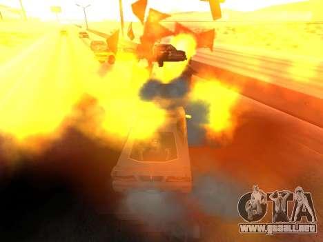 Blast machines para GTA San Andreas tercera pantalla