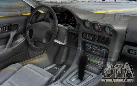Mitsubishi 3000GT 1999 para la visión correcta GTA San Andreas