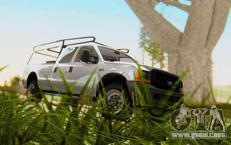 Ford F-250 XL 2002 para GTA San Andreas