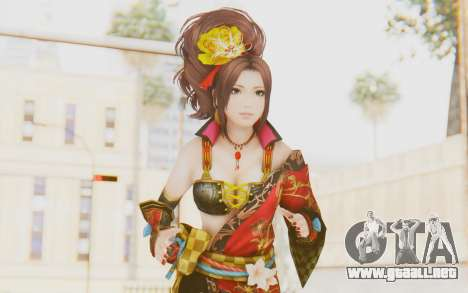 Samurai Warriors 4 - Kai para GTA San Andreas
