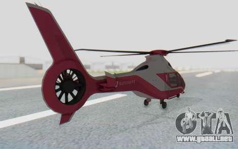 GTA 5 Buckingham Volatus v1 para GTA San Andreas left