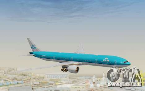 Boeing 777-300ER KLM - Royal Dutch Airlines v3 para GTA San Andreas