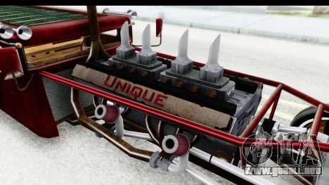 Unique V16 Fordor Ratrod para visión interna GTA San Andreas