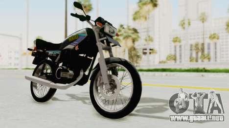 Yamaha RX King 135 1993 para la visión correcta GTA San Andreas