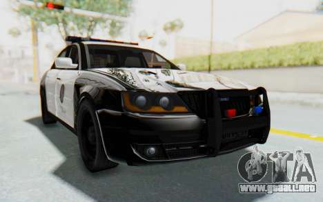 ASYM Desanne XT Pursuit v1 para GTA San Andreas