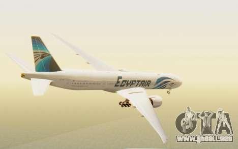 Boeing 777-300ER EgyptAir para GTA San Andreas left
