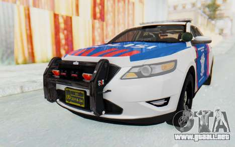 Ford Taurus Indonesian Traffic Police para GTA San Andreas