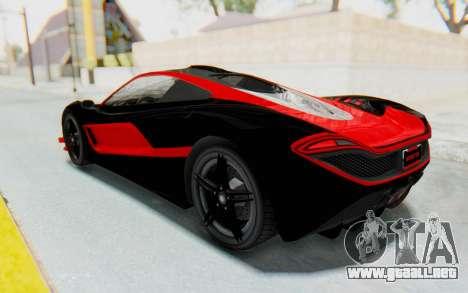 GTA 5 Progen T20 Devil PJ para la vista superior GTA San Andreas