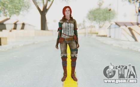 The Witcher 3 - Triss Merigold WildHunt Outfit para GTA San Andreas segunda pantalla