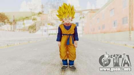 Dragon Ball Xenoverse Goten SSJ para GTA San Andreas segunda pantalla