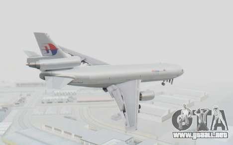 DC-10-30F MASkargo para GTA San Andreas left