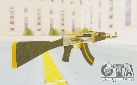 CS:GO - AK-47 Carbon Edition para GTA San Andreas segunda pantalla