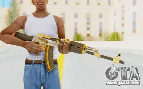 CS:GO - AK-47 Carbon Edition para GTA San Andreas tercera pantalla