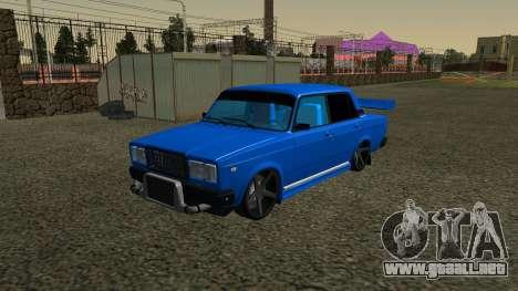 VAZ 2107 Deporte para GTA San Andreas