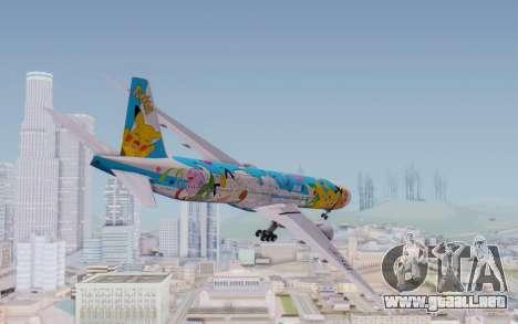Boeing 777-300ER ZK-OKR para GTA San Andreas left