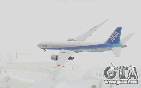 Boeing 777-300ER ANA JA735A para la visión correcta GTA San Andreas