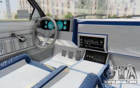 GTA 5 Willard Faction Custom Donk v2 para visión interna GTA San Andreas