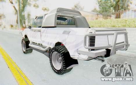 Ikco Super Peykan Pickup para GTA San Andreas left