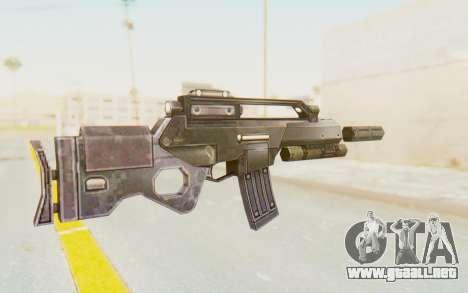 APB Reloaded - STAR 556 LCR para GTA San Andreas segunda pantalla
