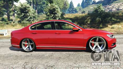 volkswagen passat highline b8 2016 stanced para gta 5. Black Bedroom Furniture Sets. Home Design Ideas